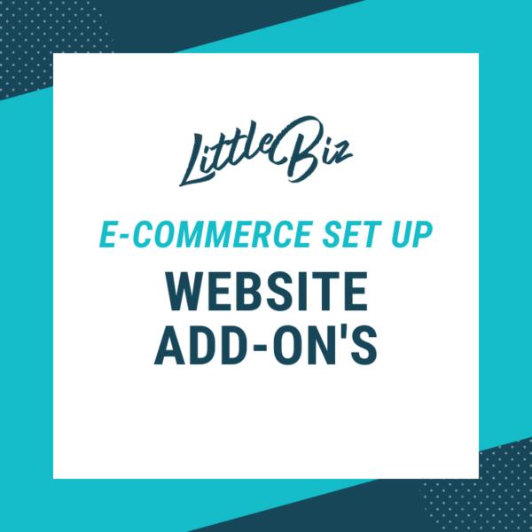 E-Commerce Set-up: Little Biz Website Packages